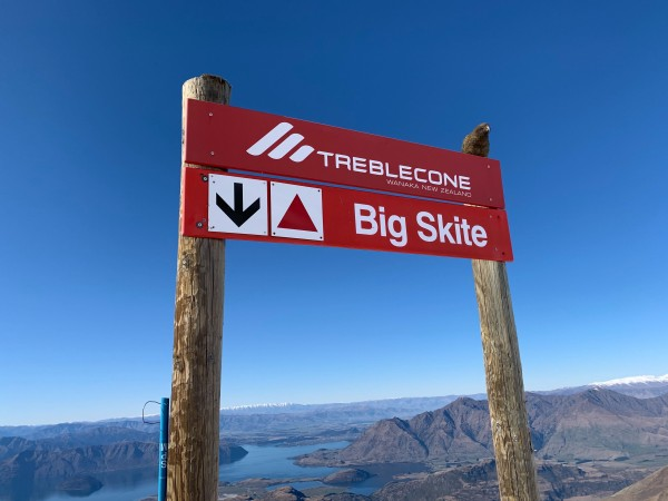 Big Skite at Treble Cone